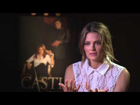 People TV: Stana Katic for People Greece Castle Fox Life