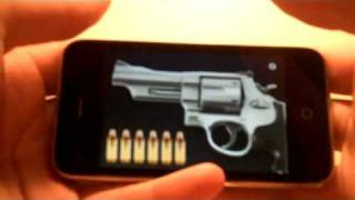 Silver Revolver - The Best Gun Simulator For The iPhone and iPod Touch