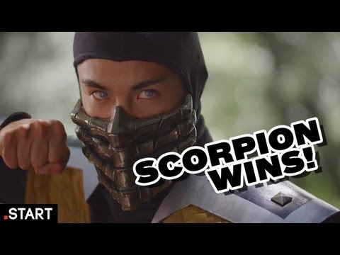 Scorpion Wins! - Ultimate Fan Fights Ep. 2 [Street Fighter vs Mortal Kombat]