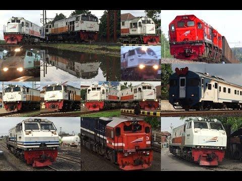 Macem-macem Semboyan 35 - Train Hornsound Compilation 2