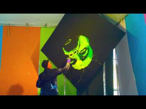 Dan Dunn s Paintjam Speed Painting a Legend