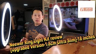 Neewer LED Ring Light  kit review