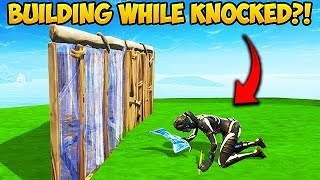 *NEW* BUILD WHILE KNOCKED TRICK! - Fortnite Funny Fails and WTF Moments! #356
