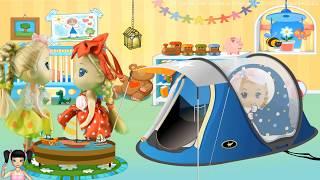 ChiChi ToysReview TV - Trò Chơi bé đi siêu thị và chơi bowling