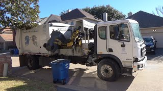 City of Dallas: Autocar Xpert Bridgeport CSC Garbage Truck