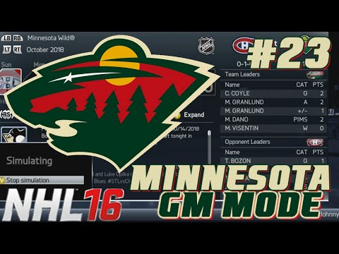 Year 4 Sim - NHL Legacy - GM Mode Commentary - Minnesota ep. 23