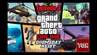 GTA V Doomsday Heist Episode 3: 1 bil til lands, til vands og i luften [DK]