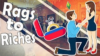 The Sims 4 Seasons: Rags to Riches - Accepta cererea in casatorie?