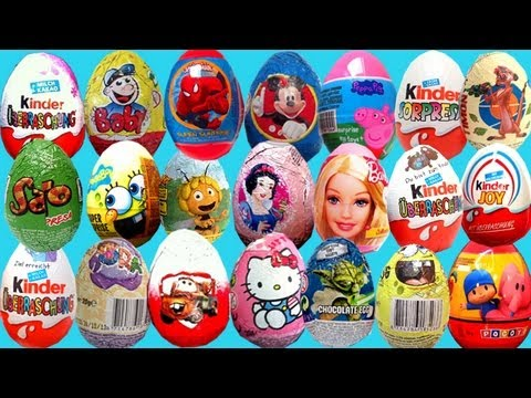 Cute Dora the explorer Surprise Chocolate Kinder Surprise Egg Unboxing - gonzalomedin
