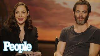 Wonder Woman: Gal Gadot & Chris Pine Reveal Behind The Scenes Stories & More | People NOW | People