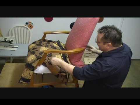 How to Upholster a Chair Seat (Part 3A of 13)