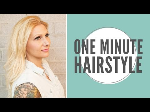 Curl Your Hair in 1 Minute