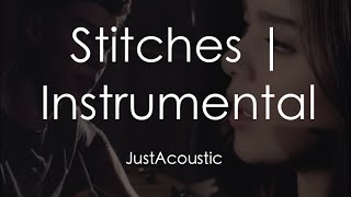 download lagu Stitches - Shawn Mendes & Hailee Steinfeld Acoustic Instrumental gratis