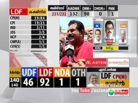 LDF' candidate  Mukesh's  replies after winning Assembly Election | Kerala Assembly Election 2016