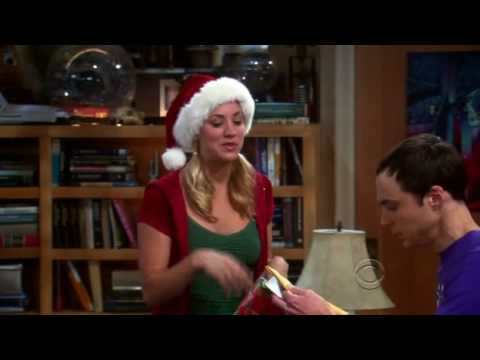 The Big Bang Theory - Penny's Christmas Gift To Sheldon video