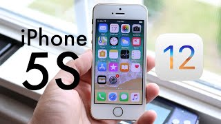 iOS 12 OFFICIAL On iPHONE 5S! (Should You Update?) (Review)