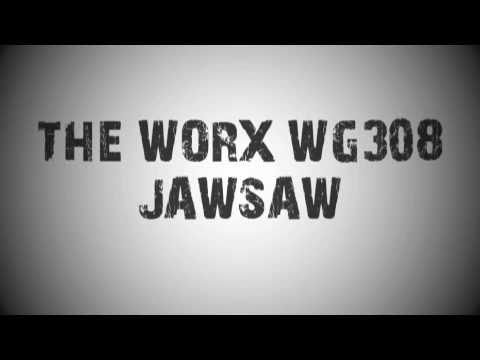 WORX WG308 JawSaw Product Demonstration - Full