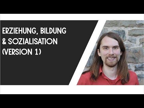 Erziehung, Bildung, Sozialisation (Version 1)