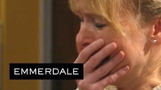 Emmerdale - Vanessa Kicks Kirin Out For Hurting Johnny