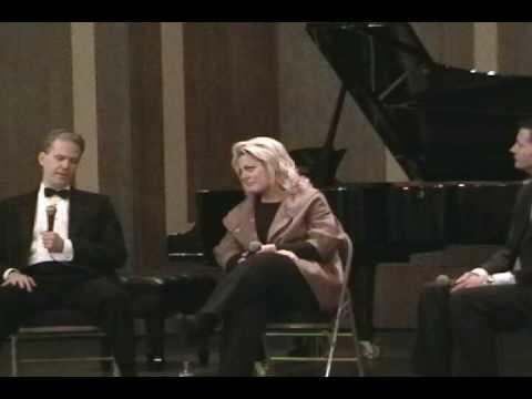 Deborah Voigt and Brian Zeger in Post-Performance Conversation