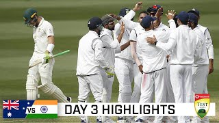 Superb India take control after Aussie batting disaster | Vodadone Test Series 2020-21