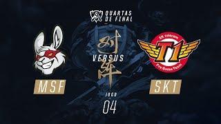 Misfits x SKT (Mundial 2017 - Quartas de Final - Jogo 4)