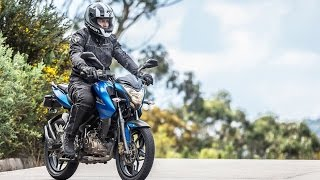 Test Drive con la Pulsar NS 150 / PubliMotos TV