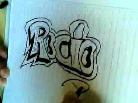 Como hacer graffitis en papel youtube - Graffitis en papel ...