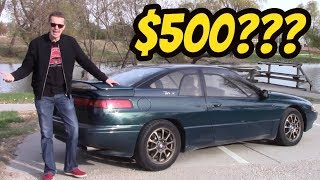 I Bought the Cheapest Subaru SVX in the USA