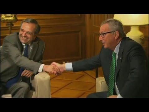 """Juncker: on n'a pas encore passé """"le cap"""" de la crise en Europe"""