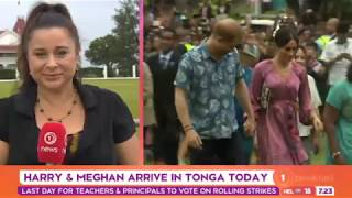 'The Tongan people are really excited - Harry and Meghan preparing for Nuku'alofa