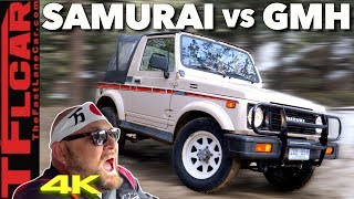 Does the Suzuki Samurai Make it Up All 3 Stages of a Snowy Gold Mine Hill?