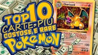 TOP 10 CARTE PIÙ COSTOSE E RARE DEI POKEMON con Federic95ita