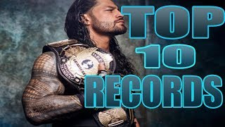 TOP 10 WWE Records That Will Never Be Broken!