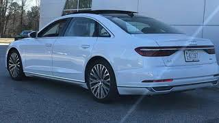 New 2019 Audi A8 Raleigh Chapel Hill, NC #D902298