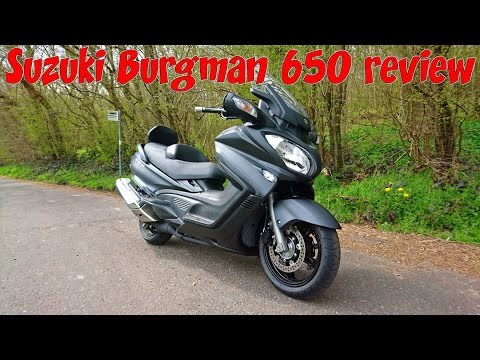 Suzuki Burgman 650 executive review!