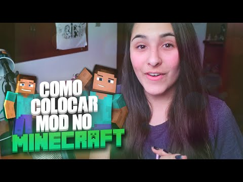 COMO COLOCAR MODS NO MINECRAFT