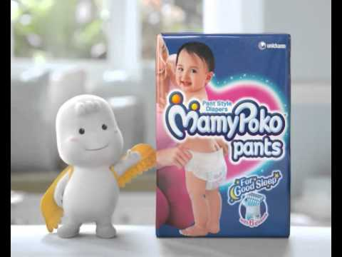 Mamypoko Pants Cuckoo Clock Television Commercial english video