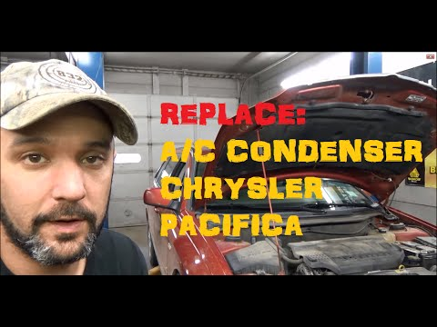 A/C Condenser Remove & Replace : Chrysler Pacifica
