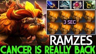 Ramzes [Earthshaker] Cancer is Back Flying Endless WTF Game 7.21 Dota 2