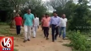 Irrigation Minister Harish Rao Inspects Development Works In SIddipet