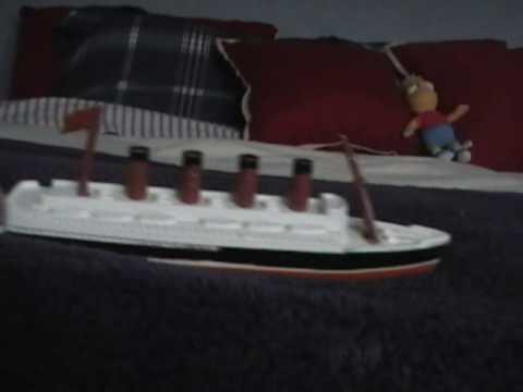 Lego Britannic Sinking Lego:britannic Part 2