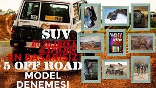 Kendini Off Road - SUV Rüzgarına Kaptırmış 5 Başarısız 4 Çeker Araba