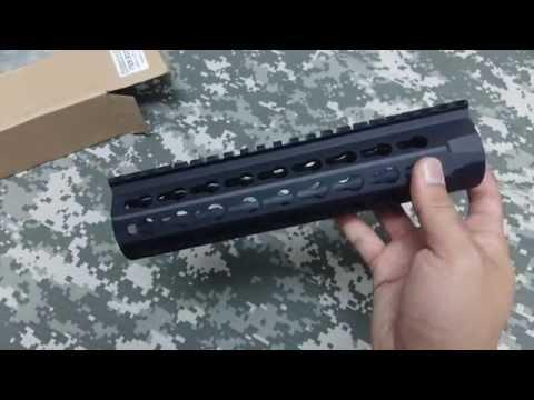 BD3780 CombatGearing.com :BD URX4 Aluminum 8.5 inch AEG Rail/BK