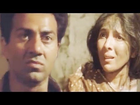 Sunny Deol Saves Life of Neena Gupta Veerta - Action Scene 1821...