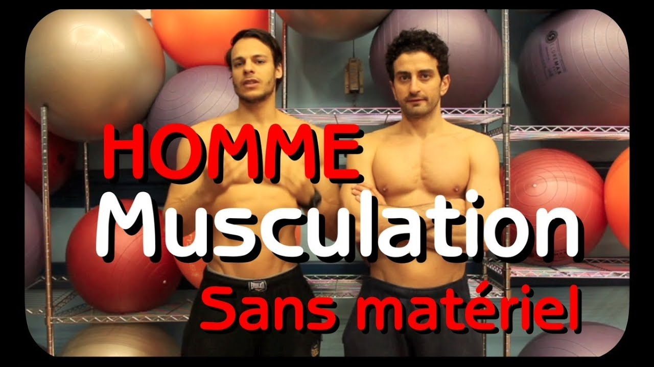 Musculation homme volume sans mat riel by bodytime youtube for Musculation volume