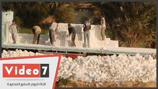 بالفيديو .. حديد المصريين يبدأ إعادة إعمار قرية أولاد يحيى بحرى بسوهاج
