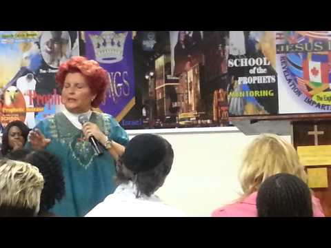 Prophetic Overflow Part 2 Dr. Connie William Harvest Intl Ministry. Arlington Tx.