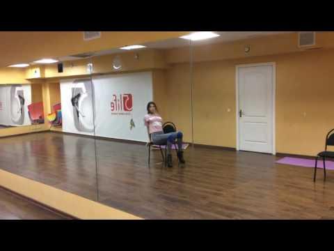 Strip plastica со стулом, танец со стулом Choreo by Anika
