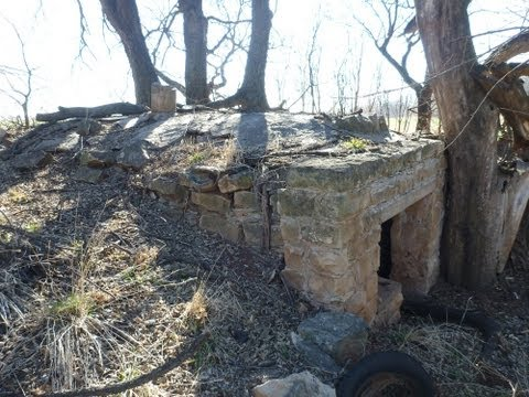 Relic hunting at an old dugout style homestead
